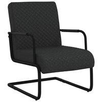 vidaXL Konzolová židle černá umělá kůže