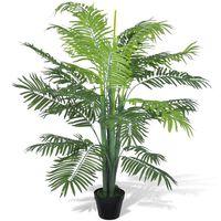 Umělá datlová palma v květináči 130 cm