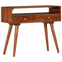 vidaXL Konzolový stolek 90 x 35 x 76 cm masivní akáciové dřevo
