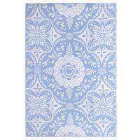 vidaXL Venkovní koberec bledě modrý 190 x 290 cm PP
