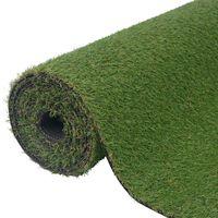 vidaXL Umělá tráva 1x15 m/20–25 mm zelená