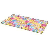 vidaXL Hrací koberec se smyčkovým vlasem 133 x 180 cm vzor motýlci