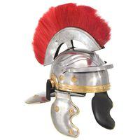 vidaXL Římská válečnická přilba pro LARPy replika stříbro ocel