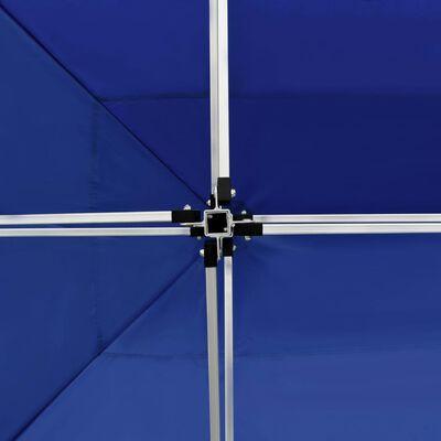 vidaXL Profesionální skládací party stan + stěny hliník 4,5x3 m modrý