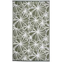 Esschert Design Venkovní koberec 241 x 152 cm květinový vzor OC21