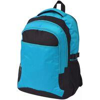 vidaXL Školní batoh 40 l černo-modrý