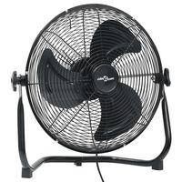 vidaXL Podlahový ventilátor 3 rychlosti 40 cm 40 W černý