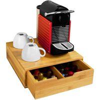 SoBuy FRG70-N Krabička na kávové kapsle, držák na kapsle Nespresso