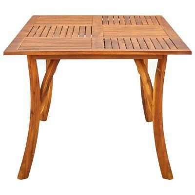 vidaXL Zahradní stůl 201,5 x 100 x 75 cm masivní akáciové dřevo