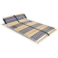 vidaXL Lamelový rošt postele se 42 lamelami 7 zón 100 x 200 cm