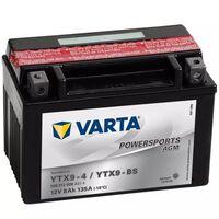 Varta Motobaterie Powersports AGM YTX9-4 / YTX9-BS