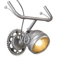 vidaXL Nástěnná lampa Jízdní kolo železo