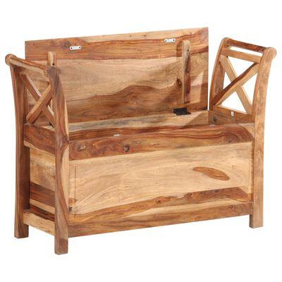 vidaXL Lavice 103 x 33 x 72 cm masivní sheeshamové dřevo