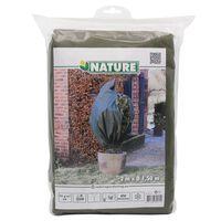Nature Zimní fleecový kryt 70 g/m² zelený 1,5 x 2 m