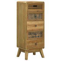 vidaXL Příborník s 5 zásuvkami hnědý 37 x 30 x 97,5 cm dřevo