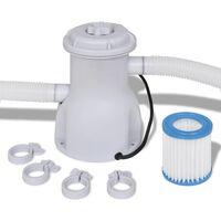 vidaXL Bazénová filtrace 1 135 l/h