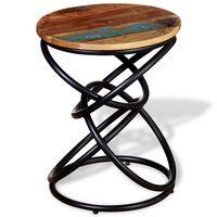 vidaXL Odkládací stolek masivní recyklované dřevo
