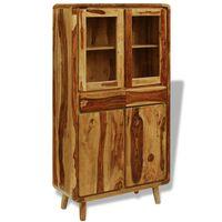 vidaXL Příborník ze sheeshamového dřeva 90x40x175 cm