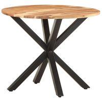 vidaXL Odkládací stolek 68 x 68 x 56 masivní akáciové dřevo