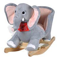 vidaXL Houpací zvířátko slon