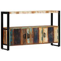 vidaXL Příborník 120 x 30 x 75 cm masivní recyklované dřevo