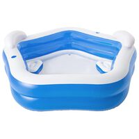 Bestway Family Fun Lounge Pool 213x206x69 cm