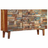 vidaXL Příborník 140 x 40 x 80 cm masivní recyklované dřevo