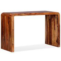 vidaXL Příborník/Odkládací stolek, masivní sheesham, hnědý