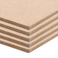 vidaXL Desky z MDF 20 ks čtvercové 60  x 60 cm x 2,5 mm