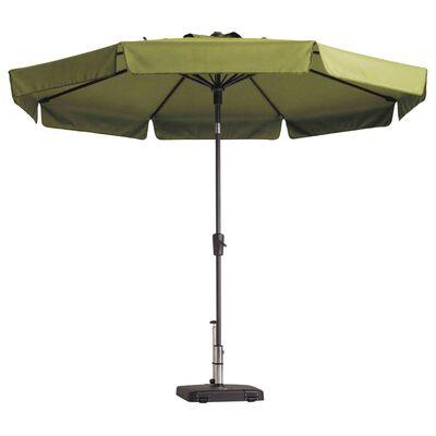 Madison Slunečník Flores 300 cm kulatý šalvějově zelený