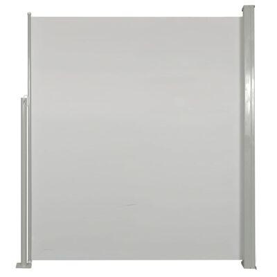 vidaXL Boční markýza na terasu 180 x 300 cm krémová