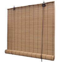 vidaXL Bambusová roleta 150 x 160 cm hnědá