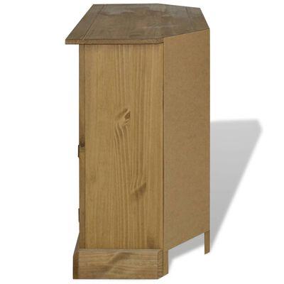 vidaXL Konzolový stolek z mexické borovice Corona 80x43x78 cm