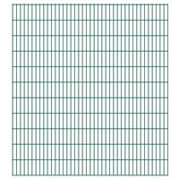 vidaXL 2D zahradní plotové dílce 2,008 x 2,23 m 18 m (celková délka)