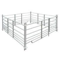 Ohrada pro ovce 183 x 183 x 92 cm, 4 panely z pozinkované oceli