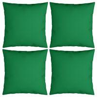 vidaXL Dekorační polštáře 4 ks zelené 60 x 60 cm textil