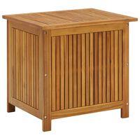 vidaXL Zahradní úložný box 60 x 50 x 106 cm masivní akáciové dřevo