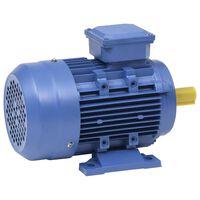vidaXL 3fázový elektromotor hliníkový 1,5 kW/2 HP 2 póly 2840 ot./min