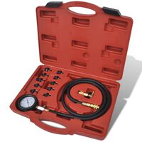Sada nástrojů pro tlakové zkoušky motoru