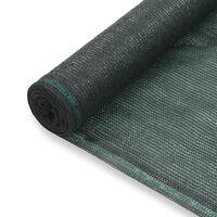 vidaXL Tenisová zástěna zelená 1 x 100 m HDPE