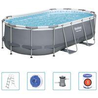 Bestway Power Steel Nadzemní bazén oválný 427 x 250 x 100 cm
