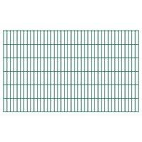 vidaXL 2D Zahradní plotové dílce 2,008 x 1,23 m 14 m (celková délka)