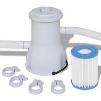 Bazénové filtrační čerpadlo / kartušová filtrace 800 gal/h
