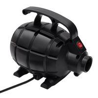 vidaXL Elektrické vzduchové čerpadlo černé
