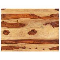 vidaXL Stolní deska masivní sheeshamové dřevo 25–27 mm 70 x 90 cm
