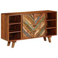 vidaXL Příborník masivní recyklované dřevo 140 x 40 x 80 cm