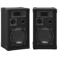 vidaXL Profesionální pasivní reproduktory hi-fi 2 ks 800 W černé