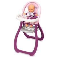 Smoby Dětská jídelní židlička pro panenky Baby Nurse
