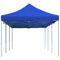 vidaXL Skládací nůžkový party stan 3 x 9 m modrý