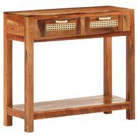 vidaXL Konzolový stolek 86 x 30 x 76 cm masivní recyklované dřevo